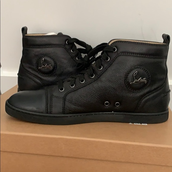 promo code d36e2 65288 Men's Christian Louboutin High Tops